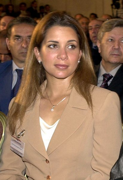 Princess Haya sought a forced marriage protection order Tuesday at a preliminary hearing over the welfare of her children with her estranged husband, as the case continues. File Photo by Mohammed Tawil/UPI