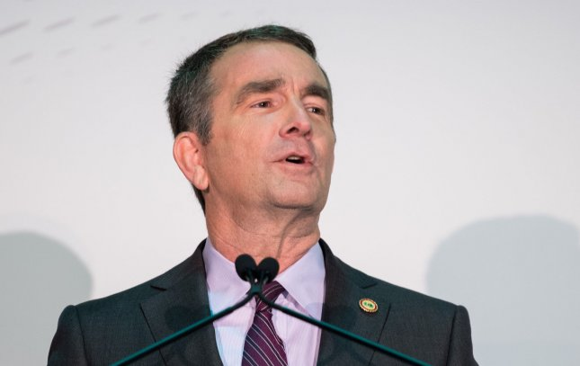 Virginia Gov. Ralph Northam declared a state of emergency on Wednesday after law enforcement reported threats of violence at a gun control rally in the state on Monday. File Photo by Kevin Dietsch/UPI