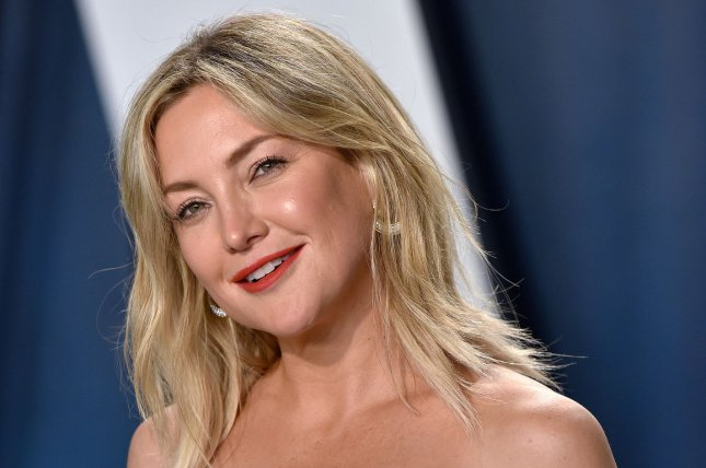 Kate Hudson received breakfast in bed, well-wishes from celebrity pals and a surprise parade on her birthday. File Photo by Christine Chew/UPI
