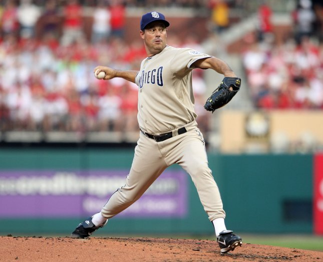 Greg Maddux, shown in a 2008 file photo, is among the name names on the Baseball Hall of fame ballots. If a player is listed on 75 percent of returned ballots, he would be inducted next summer.