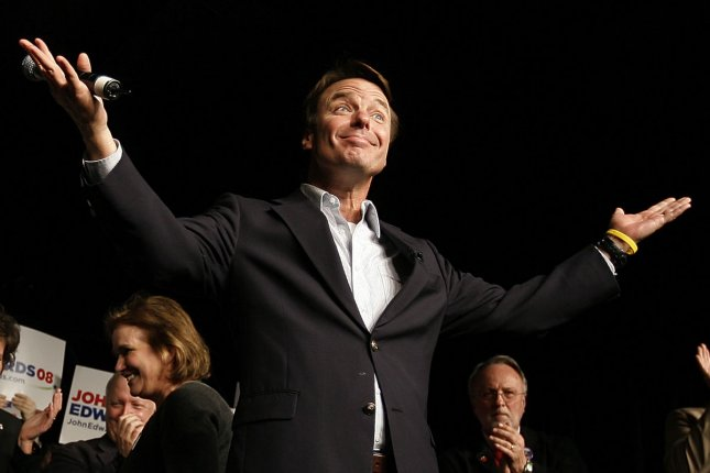 Former Democratic presidential hopeful John Edwards will go on trial in January on charges of violating campaign finance laws. (UPI File Photo/John Sommers II)