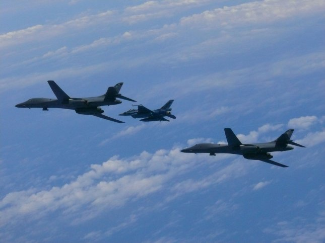 US Military Conducts Simulated Bombing Drills with B-1B Supersonic Jet Over Korean Peninsula