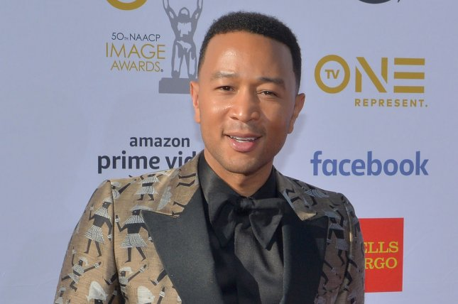 John Legend will take the stage Thursday during the Red Nose Day special. File Photo by Jim Ruymen/UPI