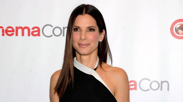 Actress Sandra Bullock arrives at a 20th Century Fox presentation to promote her upcoming film The Heat at Caesars Palace during CinemaCon, the official convention of the National Association of Theatre Owners, in Las Vegas, Nevada on April 18, 2013. UPI/David Becker