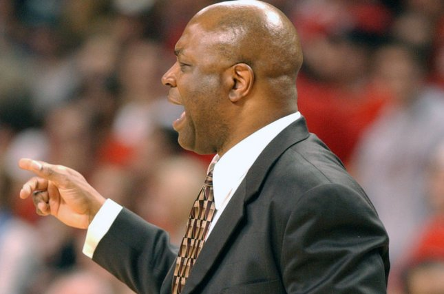 Coach Leonard Hamilton and Florida State meet Xavier in the second round of the NCAA tournament Sunday. File photo by Mark Goldman/UPI