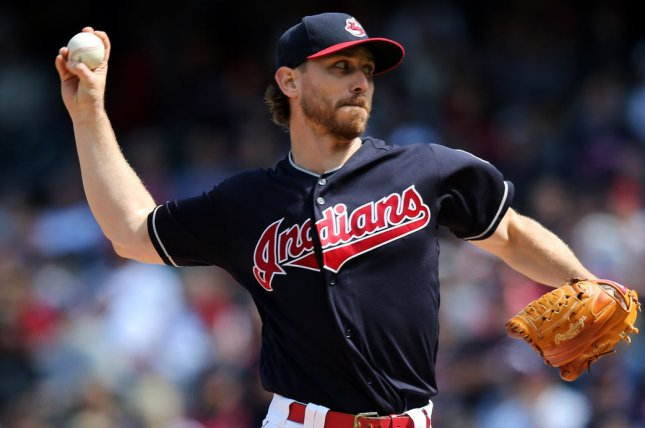 Josh Tomlin and the Cleveland Indians take on the Kansas City Royals on Thursday. Photo by Aaron Josefczyk/UPI