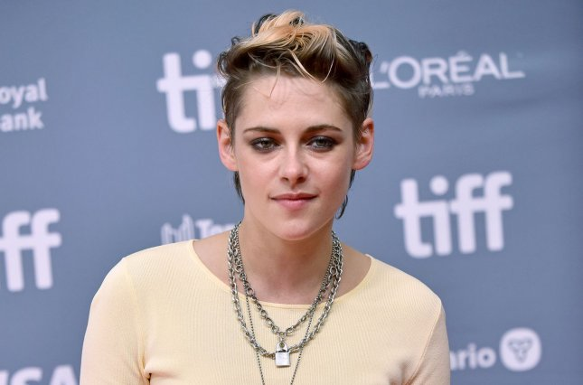 Kristen Stewart will portray Princess Diana in Spencer, a new drama produced by Jackie director Pablo Larraín. File Photo by Christine Chew/UPI