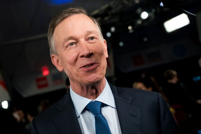 John Hickenlooper, a former Democratic presidential candidate, advanced to the general election in November and hopes to represent Colorado in the U.S. Senate. File Photo by Kevin Dietsch/UPI