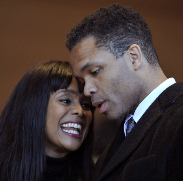 Former U.S. Rep. Jesse Jackson Jr. and wife Sandi are both headed for prison. 2011 file photo UPI/Brian Kersey