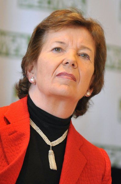 Former Irish President Mary Robinson, pictured at an event in Washington June 7, 2010. UPI/Kevin Dietsch