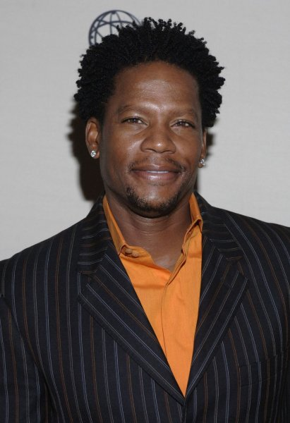 Cast member D.L. Hughley arrives for 'An Evening With Studio 60 on the Sunset Strip' held at the Academy of Television Arts and Sciences in Los Angeles on September 25, 2006. (UPI Photo/ Phil McCarten)