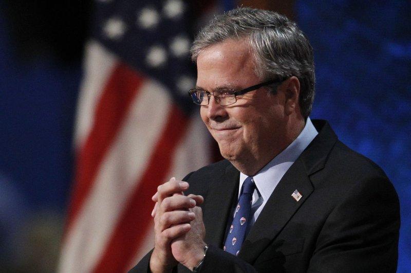 Former Florida Gov. Jeb Bush. UPI/Matthew Healey