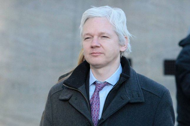 WikiLeaks founder Julian Assange has called details of the Trans-Pacific Partnership Agreement to be made public. File Photo by Hugo Philpott/UPI