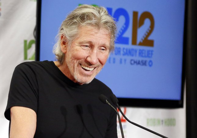 Roger Waters speaks in the press room at 12-12-12, The Concert For Sandy Relief, in Madison Square Garden in New York City on December 12, 2012. The former Pink Floyd bandmate penned an op-ed for Salon criticizing the band Bon Jovi for moving forward with their Israel show. Photo by John Angelillo/UPI