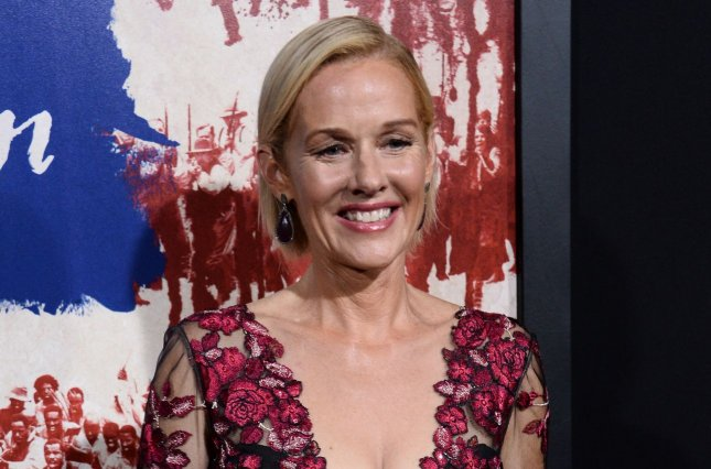 Penelope Ann Miller will play former first lady Nancy Reagan in Reagan, a new film about president Ronald Reagan. File Photo by Jim Ruymen/UPI