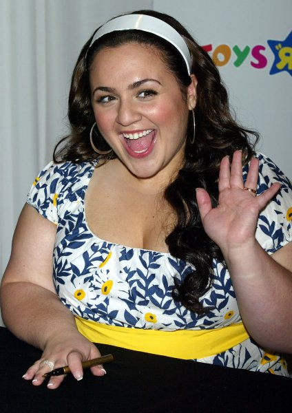 Nikki Blonsky attends the launch of the authentic Hairspray fashion dolls and autograph signing at Toys 'r' Us in New York on July 17, 2007. (UPI Photo/Laura Cavanaugh)