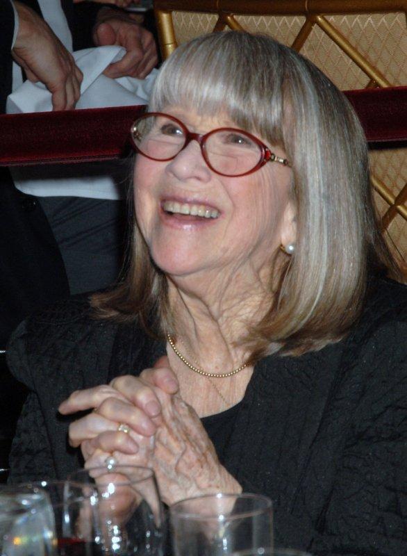 Actress Julie Harris in New York, March 3, 2008. (UPI Photo/Ezio Petersen)