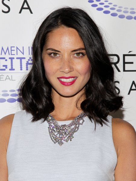Olivia Munn arrives at the L'Oreal USA Women In Digital 'NEXT' Generation Awards Ceremony at Three Sixty Degrees in New York City on July 17, 2013. UPI/John Angelillo