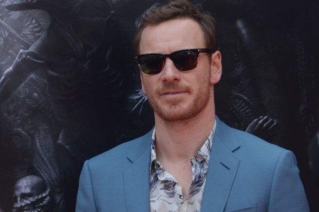From the cast of Alien: Convenant, which topped the North American box office this weekend, actor Michael Fassbender, arrives on the red carpet ahead of Sir Ridley Scott's hand and footprint ceremony in Los Angeles on Wednesday. Photo by Jim Ruymen/UPI