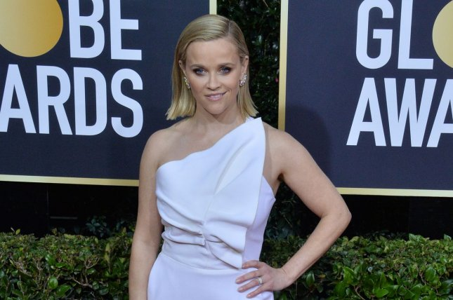 Reese Witherspoon will present and narrate Fierce Queens, a BBC-produced docu-series about female animals, for Quibi. File Photo by Jim Ruymen/UPI