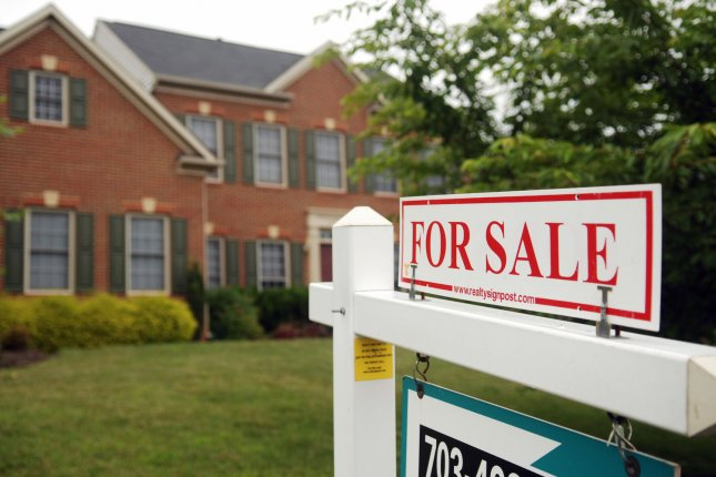 The average rate for a 30-year mortgage under $548,000 or less is up to 3.36%, the highest level in 10 months. File Photo by Alexis C. Glenn/UPI