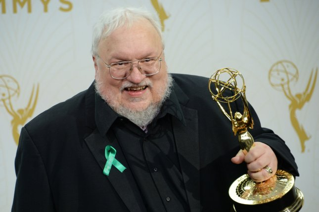 George R. R. Martin is executive producing a psychological thriller set in the 1970s Southwest for AMC. File Photo by Jim Ruymen/UPI