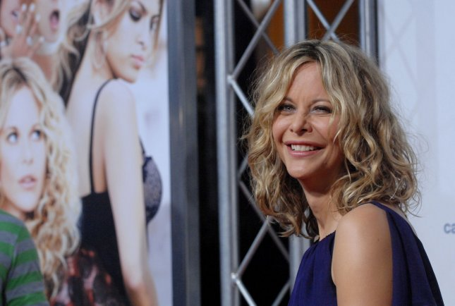 Actress Meg Ryan, who stars in the dramatic comedy motion picture The Women, attends the premiere of film, a remake of George Cukor's 1939 film in Los Angeles on September 4, 2008. (UPI Photo/Jim Ruymen)