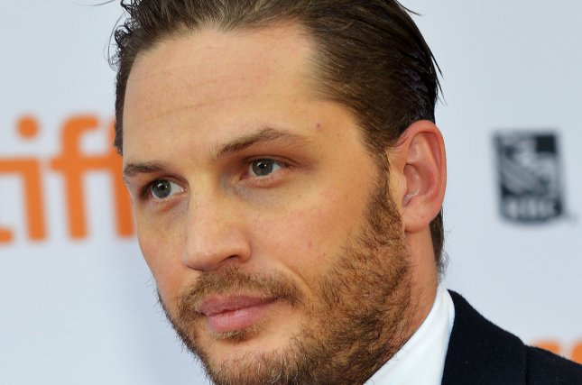 Tom Hardy arrives for the Toronto International Film Festival premiere of 'The Drop' at the Princess of Wales Theatre in Toronto, Canada on September 5, 2014. UPI Photo/Christine Chew