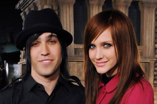 Pete Wentz (L) and Ashlee Simpson divorced in November 2011. Photo by Jim Ruymen/UPI