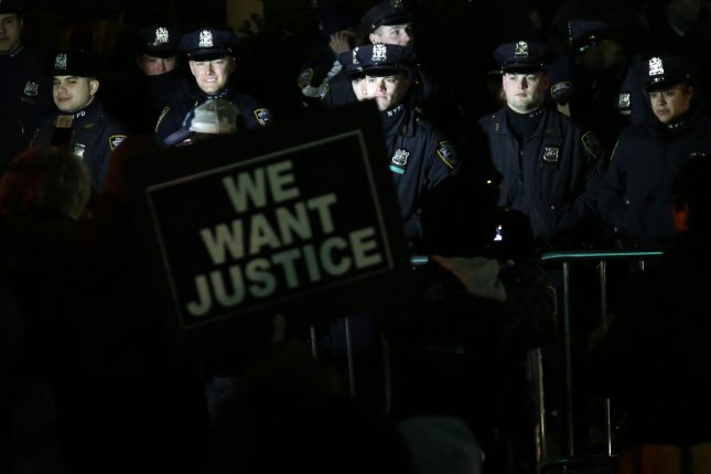 Police officers across the country are worried a GPS app revealing the location of officers can result in violence against police. UPI/John Angelillo