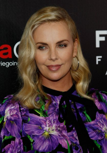 Tully actress Charlize Theron arrives for the Focus Features Celebrates 15 Years and a Bright Future at CinemaCon 2017 in Las Vegas on March 29. File Photo by James Atoa/UPI