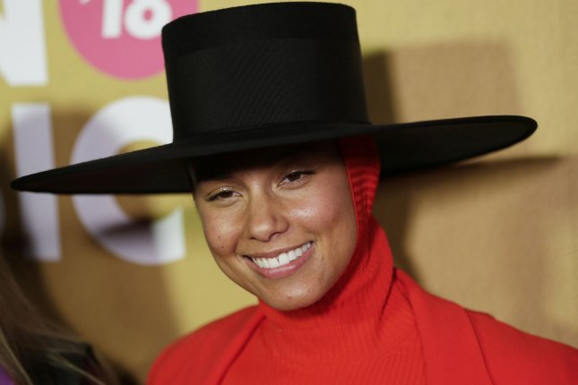 Alicia Keys will preside over the 61st annual Grammy Awards. File Photo by John Angelillo/UPI