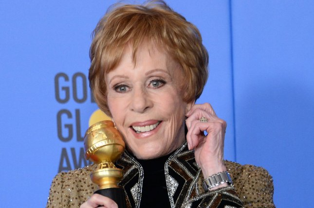 Actress Carol Burnett  has signed up for a role in Netflix's Sorta Like a Rock Star. File Photo by Jim Ruymen/UPI