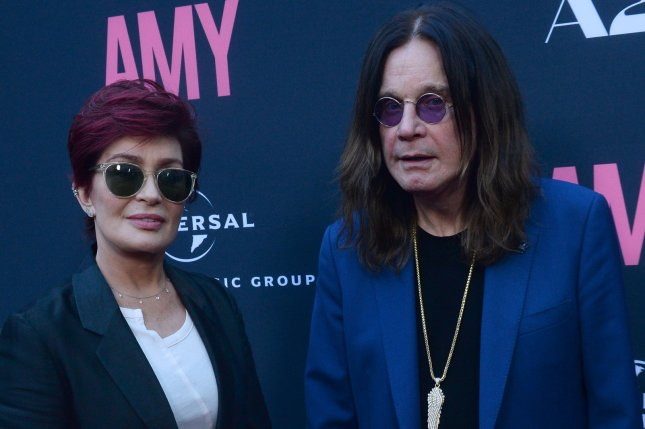Sharon Osbourne and her husband, rock musician Ozzy Osbourne, will guest star on The Conners Tuesday. File Photo by Jim Ruymen/UPI