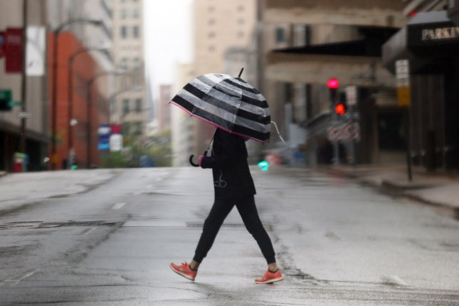 Severe weather is expected to ramp up Saturday and expand to cover a large portion of the central United States. FilePhoto by Bill Greenblatt/UPI