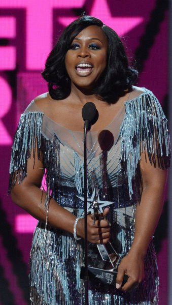 Remy Ma accepts the award for Best Female Hip Hop Artist during the 17th annual BET Awards at Microsoft Theater in Los Angeles on June 25, 2017.The rapper turns 40 on May 30. File Photo by Jim Ruymen/UPI