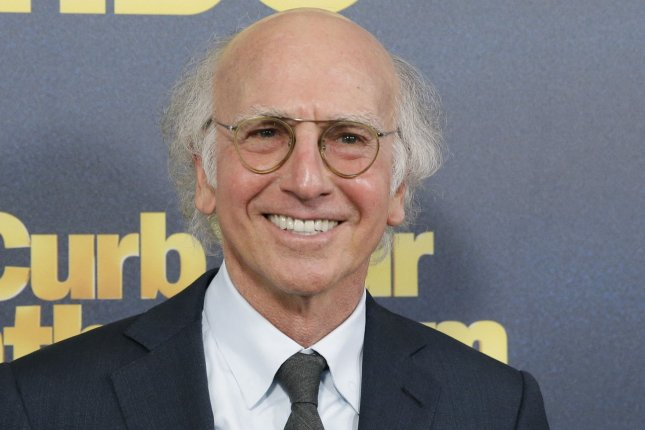Larry David talked about his friendship with Richard Lewis and filming Curb Your Enthusiasm Season 11 on Jimmy Kimmel Live. File Photo by John Angelillo/UPI