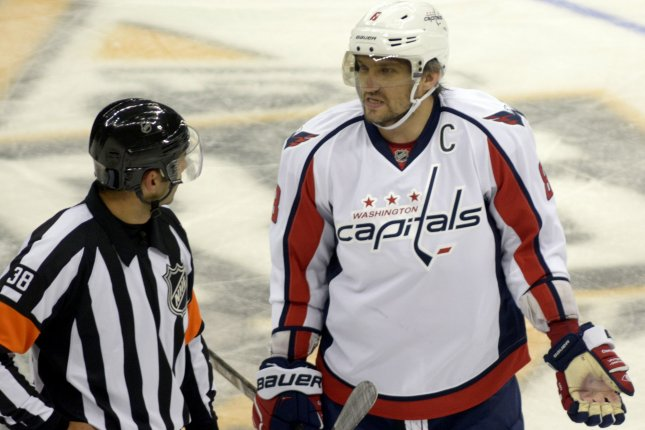 93bff1f89f2 Alex Ovechkin s hat trick powers Washington Capitals - UPI.com