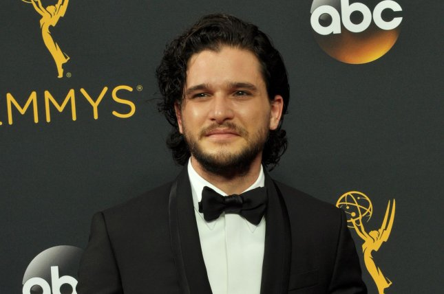 Game of Thrones star Kit Harington arrives for the 68th annual Primetime Emmy Awards on September 18. HBO Spain released the next episode of the drama ahead of schedule. File Photo by Christine Chew/UPI
