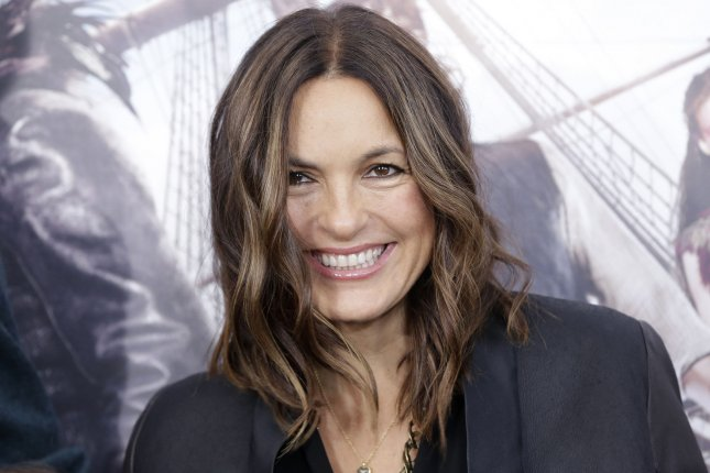 Law and Order: SVU star and executive producer Mariska Hargitay arrives on the red carpet for the premiere of Pan on October 4, 2015 in New York City. File Photo by John Angelillo/UPI
