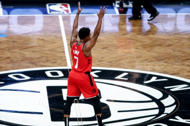 Kyle Lowry and the Toronto Raptors have a first-round playoff matchup against the Orlando Magic, starting Saturday in Toronto. File Photo by Nicole Sweet/UPI