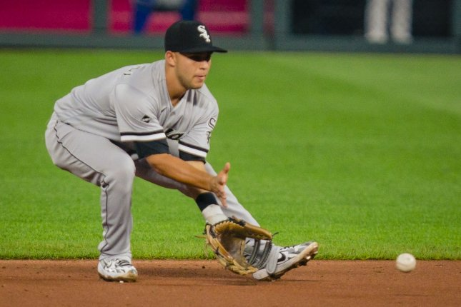 Chicago White Sox second baseman Nick Madrigal, shown July 31, 2020, is expected to be ready for spring training next year. File Photo by Kyle Rivas/UPI