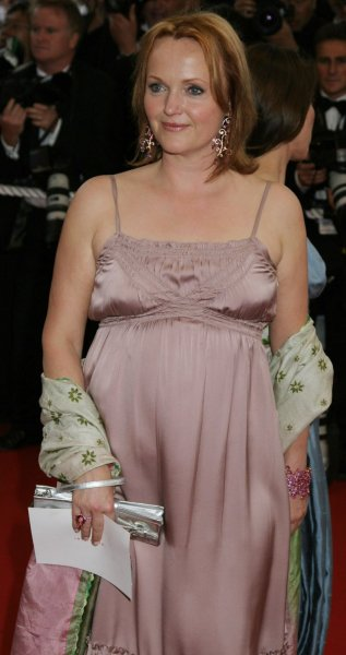 Actress Miranda Richardson arrives on the red carpet at the 59th Annual Cannes Film Festival in Cannes, France on May 18, 2006. (UPI Photo/David Silpa)