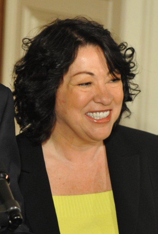 U.S. Supreme Court nominee Sonia Sotomayor (UPI Photo/Kevin Dietsch)