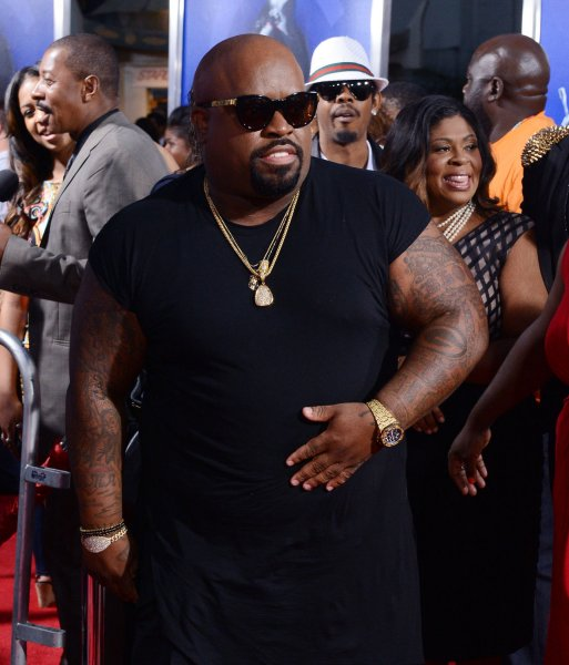 Singer Cee-Lo Green, a cast member in the motion picture drama Sparkle, attends the premiere of the film at Grauman's Chinese Theatre in the Hollywood section of Los Angeles on August 16, 2012. UPI/Jim Ruymen