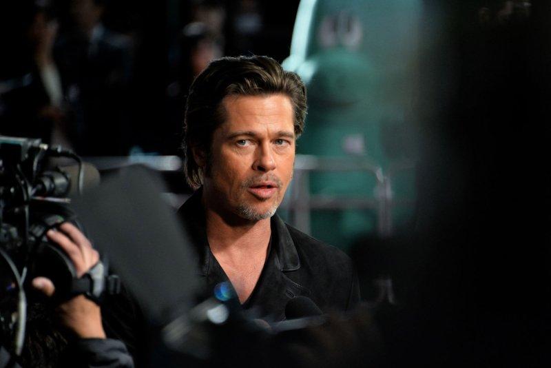 Actor Brad Pitt. Photo by Keizo Mori/UPI