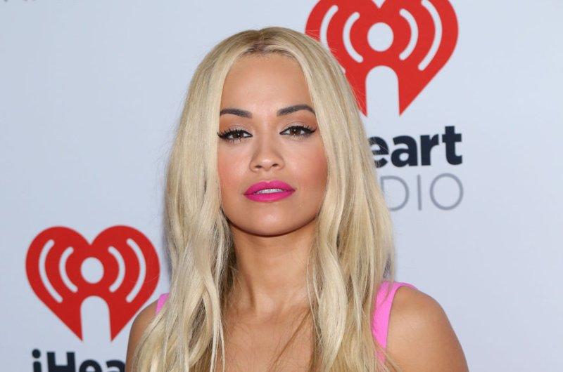 Rita Ora at the iHeartRadio Music Festival on September 19, 2015. File photo by James Atoa/UPI