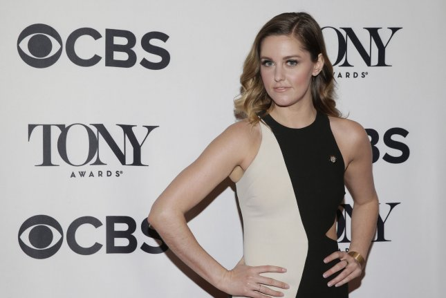 Taylor Louderman and the cast of her Broadway show Mean Girls will perform at Sunday's Tony Awards ceremony. File Photo by John Angelillo/UPI
