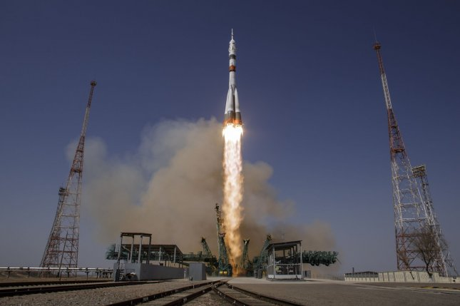 Russian cooperation with NASA, as shown by launch on Friday of a Russian Soyuz rocket from Kazakhstan carrying two Russian cosmonauts and a NASA astronaut, may look different in the future as the space power says it intends to cooperate more with China. Photo by Bill Ingalls/NASA