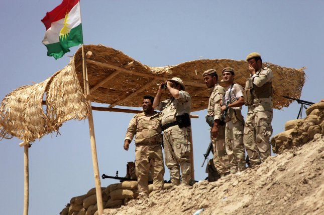 Kurdish forces draw on oil revenue for support. Semiautonomous Kurdish government extends financial hand to oil companies working in northern oil fields. File Photo by Mohammed al Jumaily/UPI